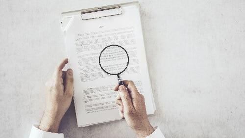 Inspecting Document